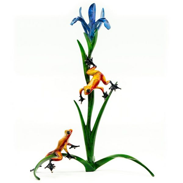Cotterill-Iris-Frog-Sculpture