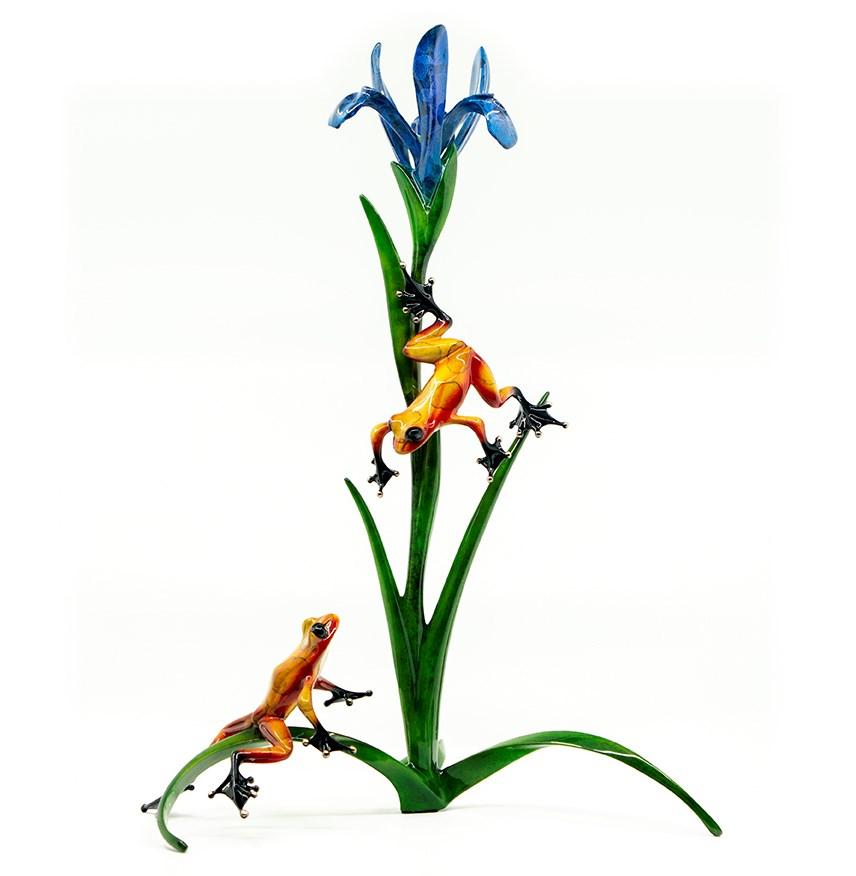 Cotterill-Iris-Frog-Sculpture