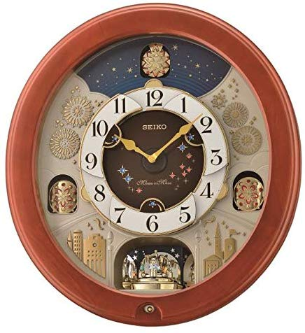 Musical Clock- bright Starry Night
